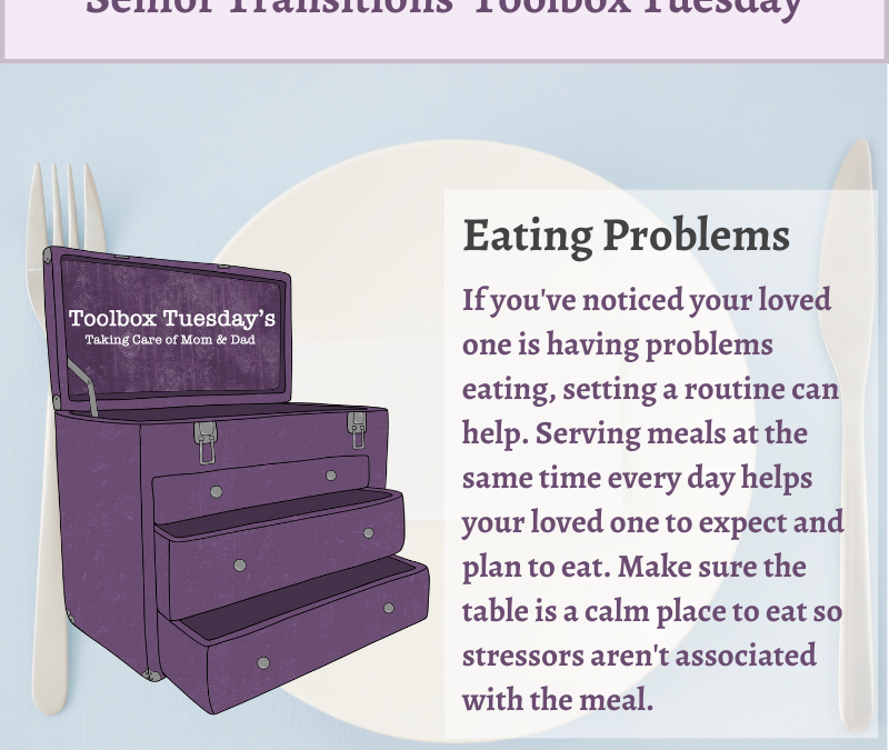 Eating Problems in Aging Parents and Grandparents with Cognitive Decline or Dementia